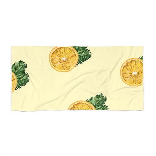 Time to Make Lemonade Beach Towel