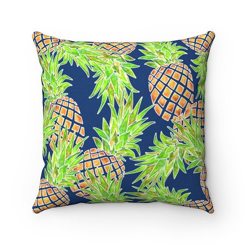 Pineapples Square Pillow Case