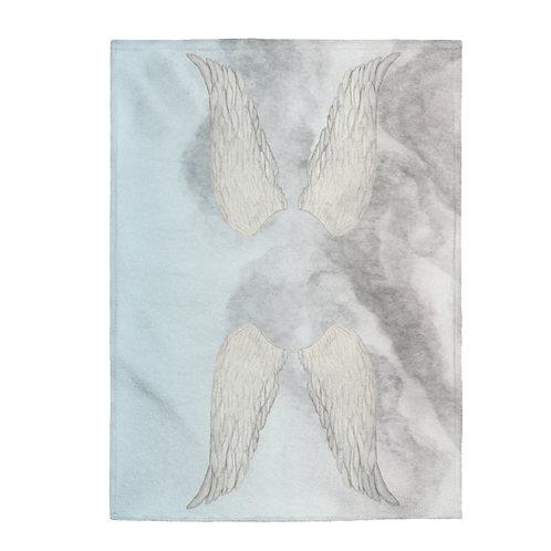 Angel Wings Plush Blanket
