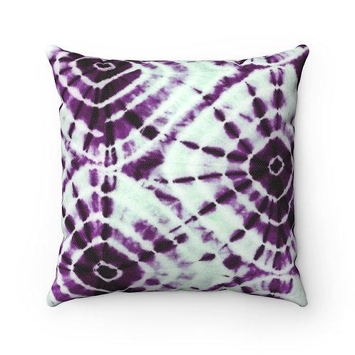 2 Dye 4- Circle Burst Square Pillow Case