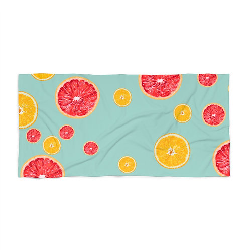 Juicy Fruit Beach Towel