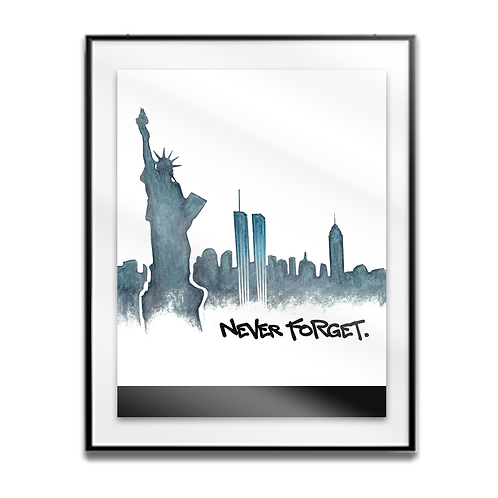 Never Forget NYC 2020 Print