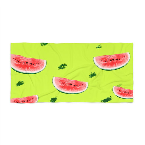 I Carried a Watermelon Beach Towel