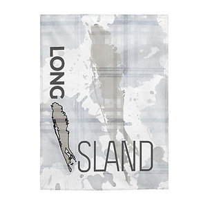 Long Island Plaid Splash Blanket