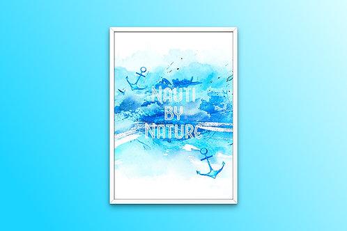 Nauti By Nature Print