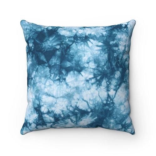 2 Dye 4- Blue Myst Square Pillow Case