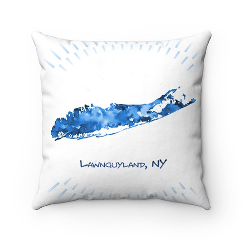Long Island Square Pillow Case