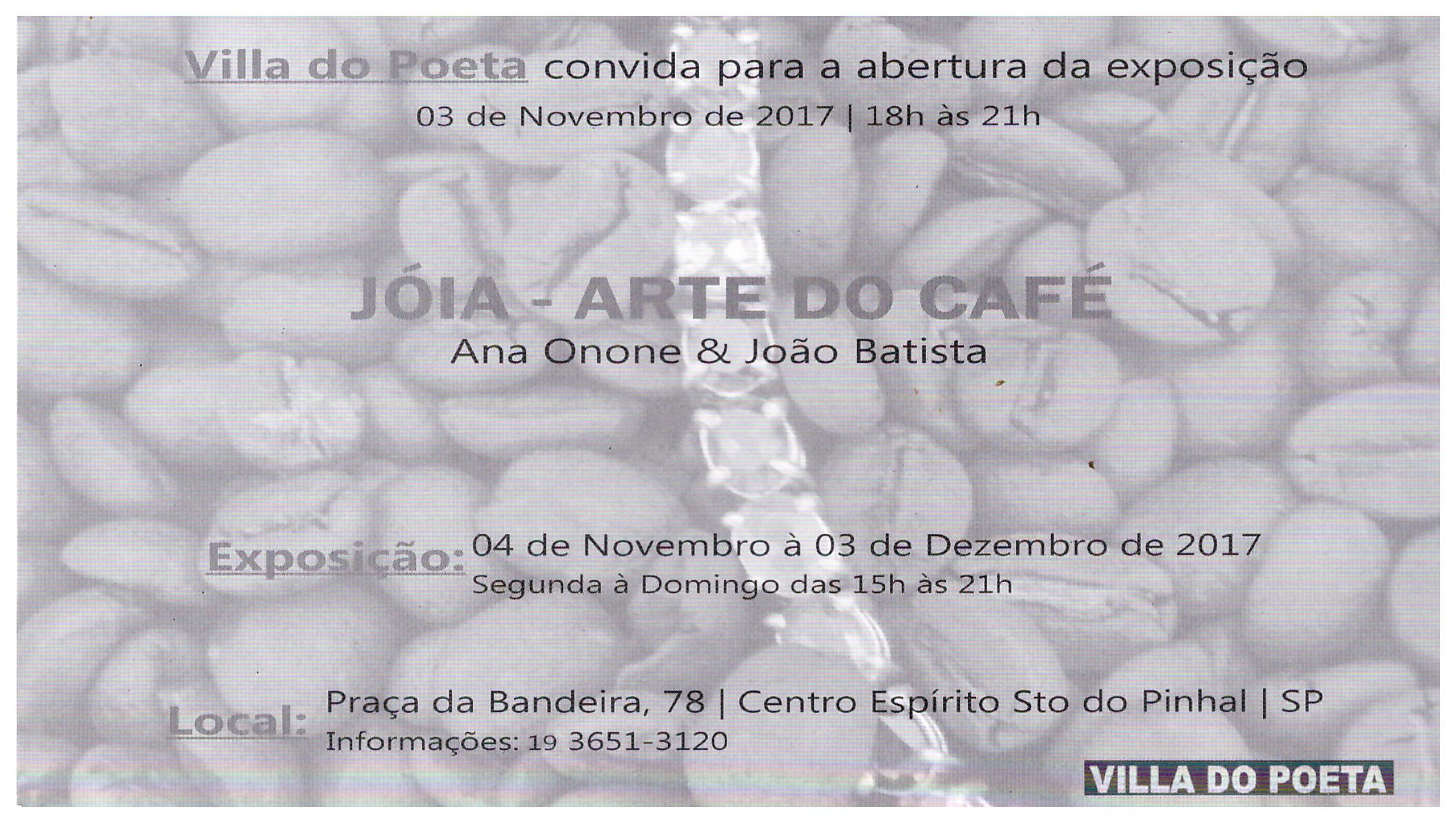 Atrás Jóias - Café alta