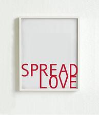 Spread Love Poster