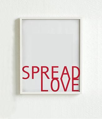 Spred kærlighed PlakatSpred kærligheden ud omkring dig - for de fleste er kærligheden og forelskelsen vigtigt i sex