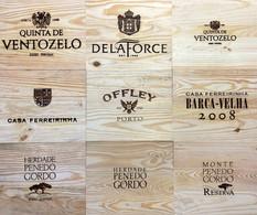 Tampos Vinhos - Tampas de madeira XI