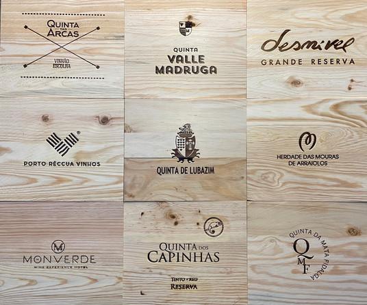 Tampos Vinhos - Tampas de madeira XIII
