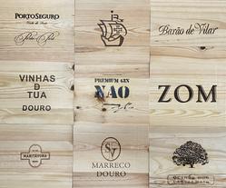 Tampos Vinhos - Tampas de madeira XIV