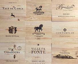 Tampos Vinhos - Tampas de madeira IX