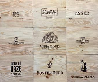 Tampos Vinhos - Tampas de madeira XX