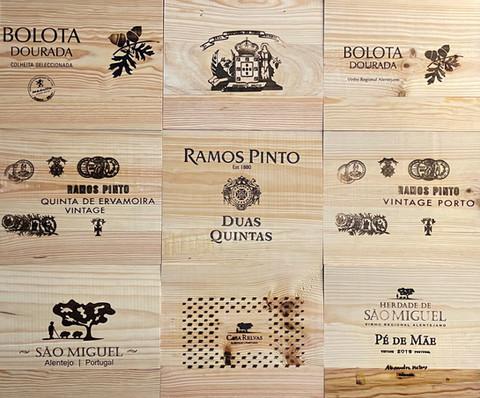 Tampos Vinhos - Tampas de madeira IV