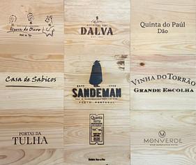 Tampos Vinhos - Tampas de madeira I