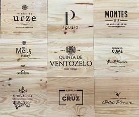 Tampos Vinhos - Tampas de madeira XVII