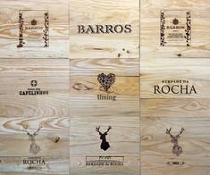 Tampos Vinhos - Tampas de madeira X