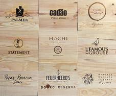 Tampos Vinhos - Tampas de madeira VII