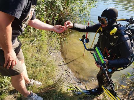 Kein Tümpel zu trüb - kein See zu tief - wir helfen wo wir können...