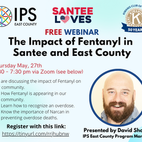 The Impact of Fentanyl in Santee and East County