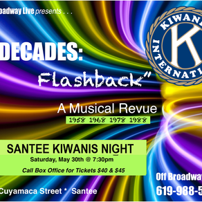 Upcoming Fundraisers at Off Broadway Live