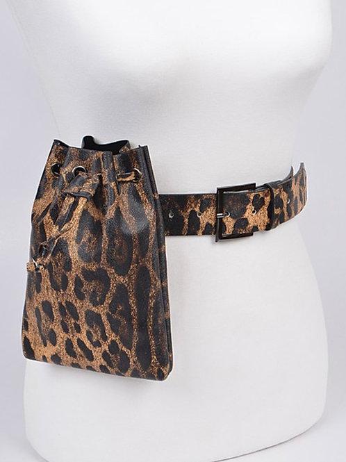 Cheetah Fanny Pack