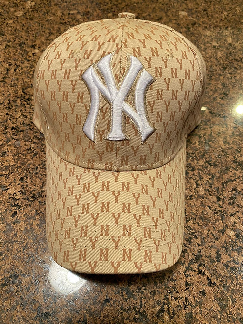 NY Print Fitted Cap