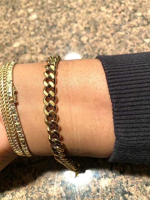 CUBAN LINK BRACELET-8mm