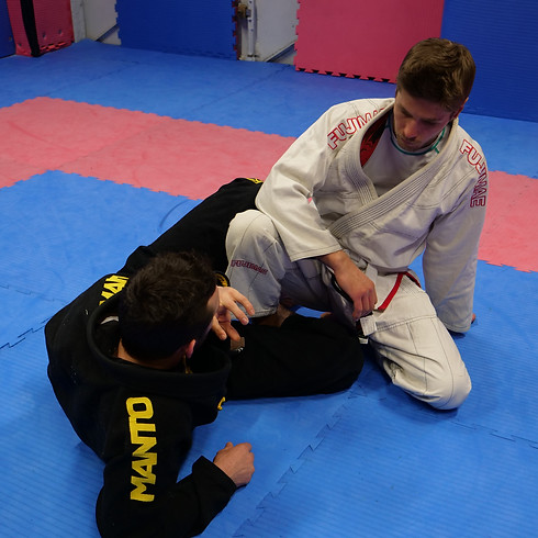 Session Grappling (escapes and counters)