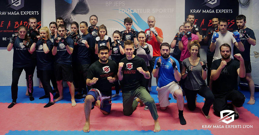krav maga team building lyon