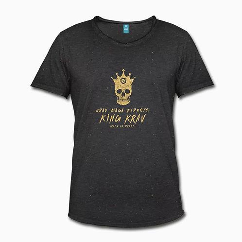 T-shirt King Krav Or