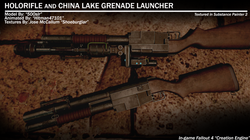 China Lake and Holorifle