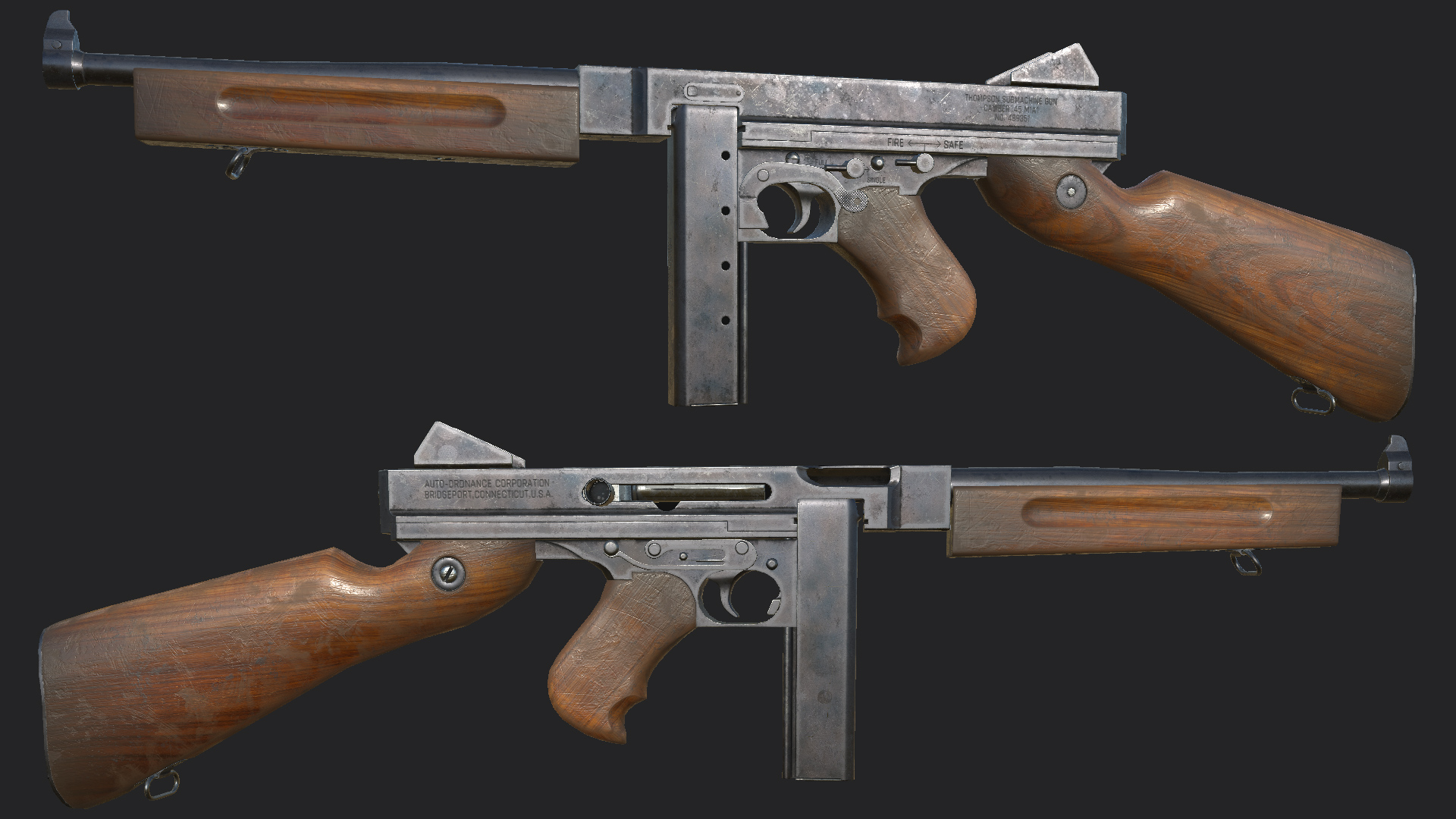 Thompson SMG Replacer