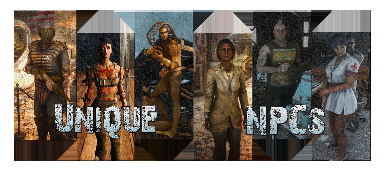 Unique NPCs - An Overhaul of the Commonw
