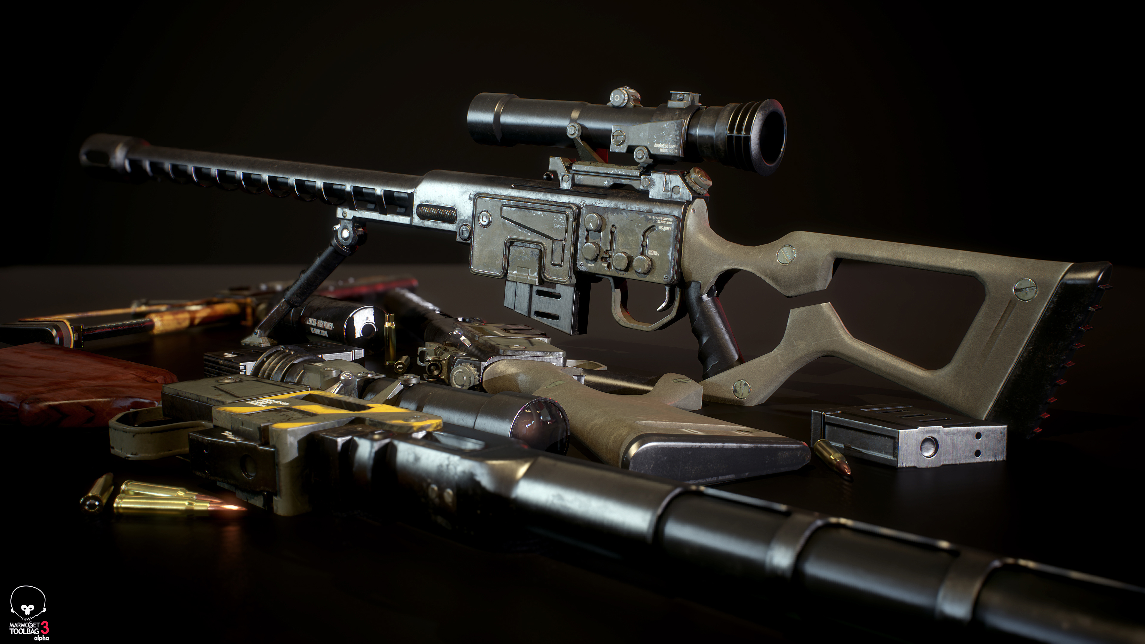 DKS-501 Sniper Rifle