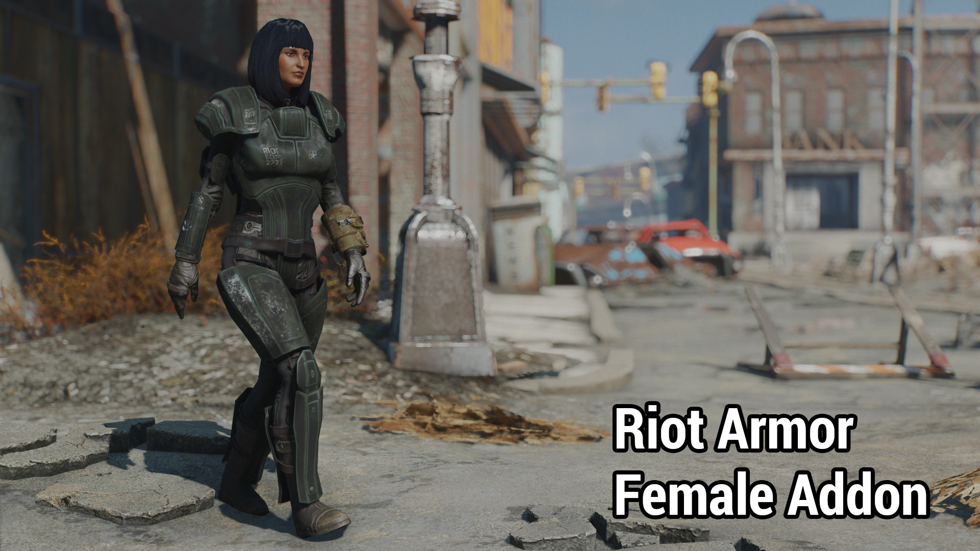 Riot Armour - Female Addon