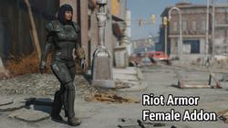 Riot Armour - Female Addon