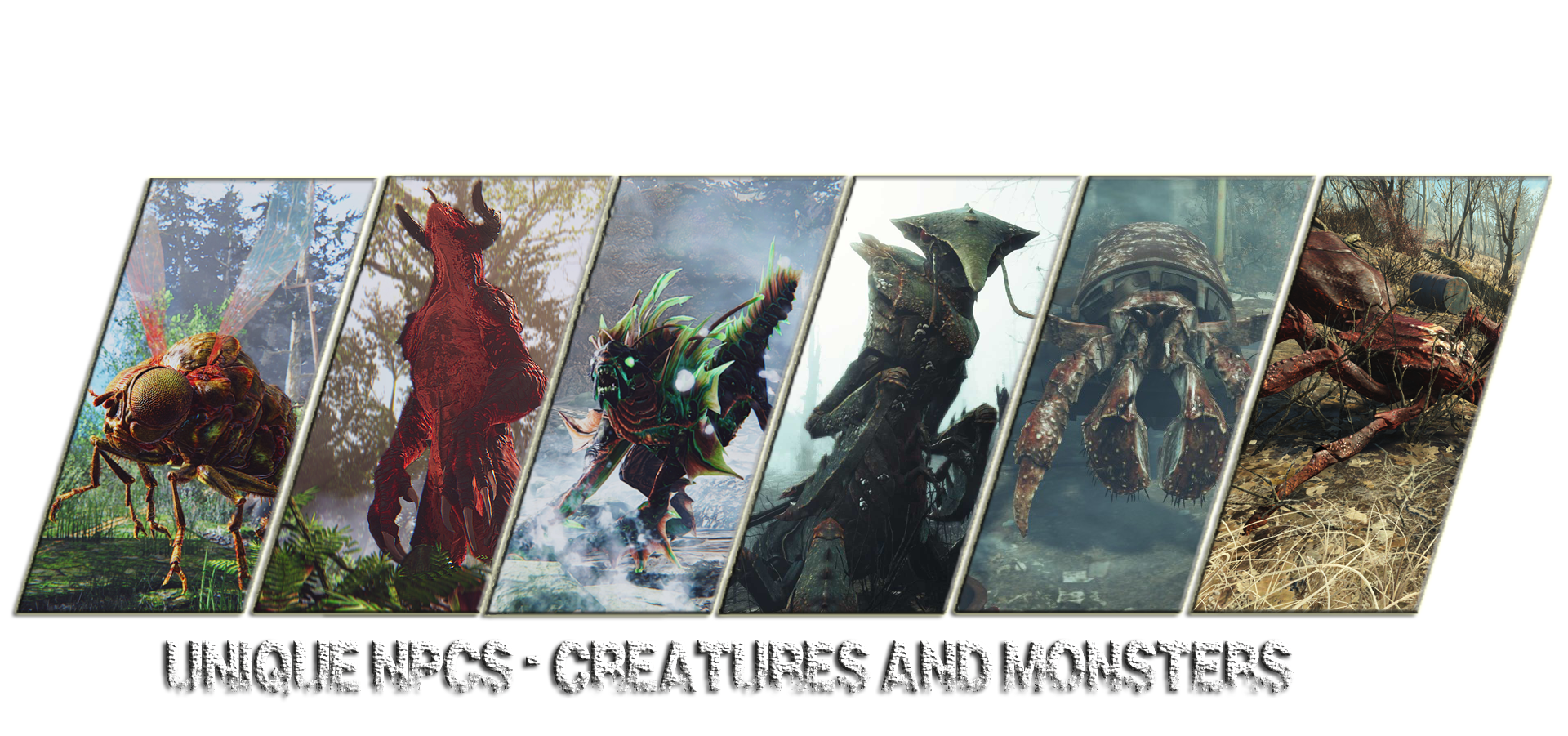 Unique NPCs - Creatures and Monsters of