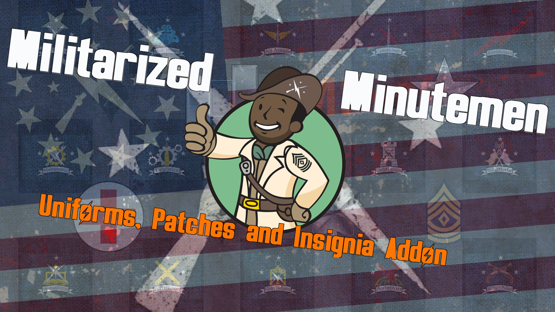 Militarized Minutemen - Uniforms Patches