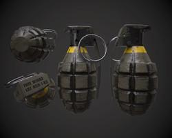 Mk. II Frag Grenade