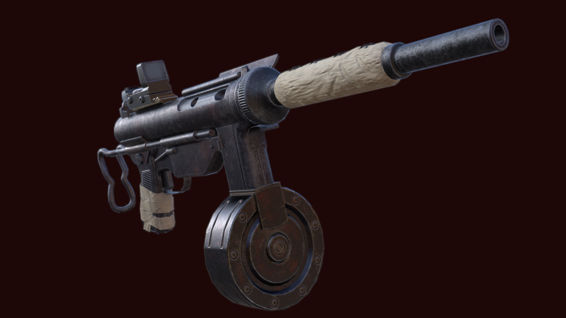 Grease Gun SMG