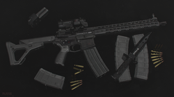 RU556 - Assault rifle