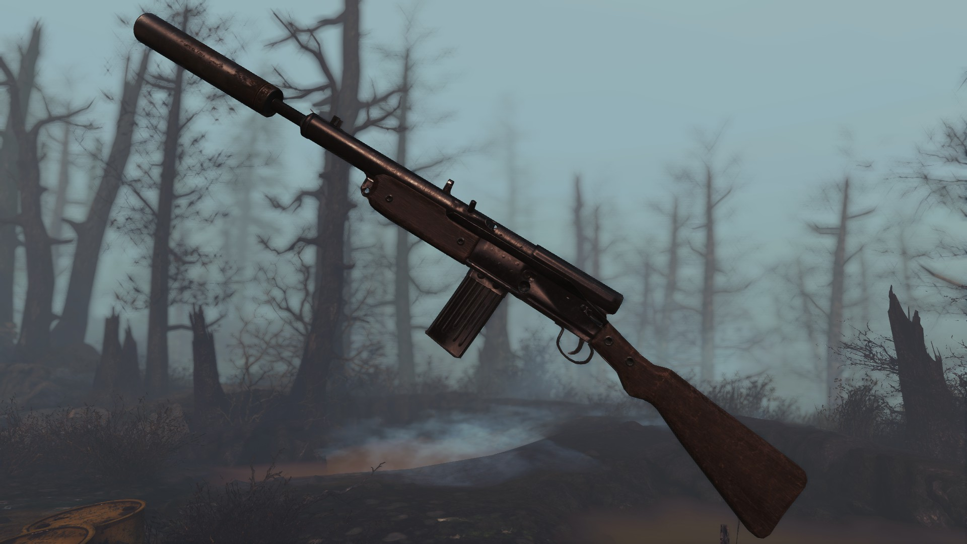 Restored Radium Rifle