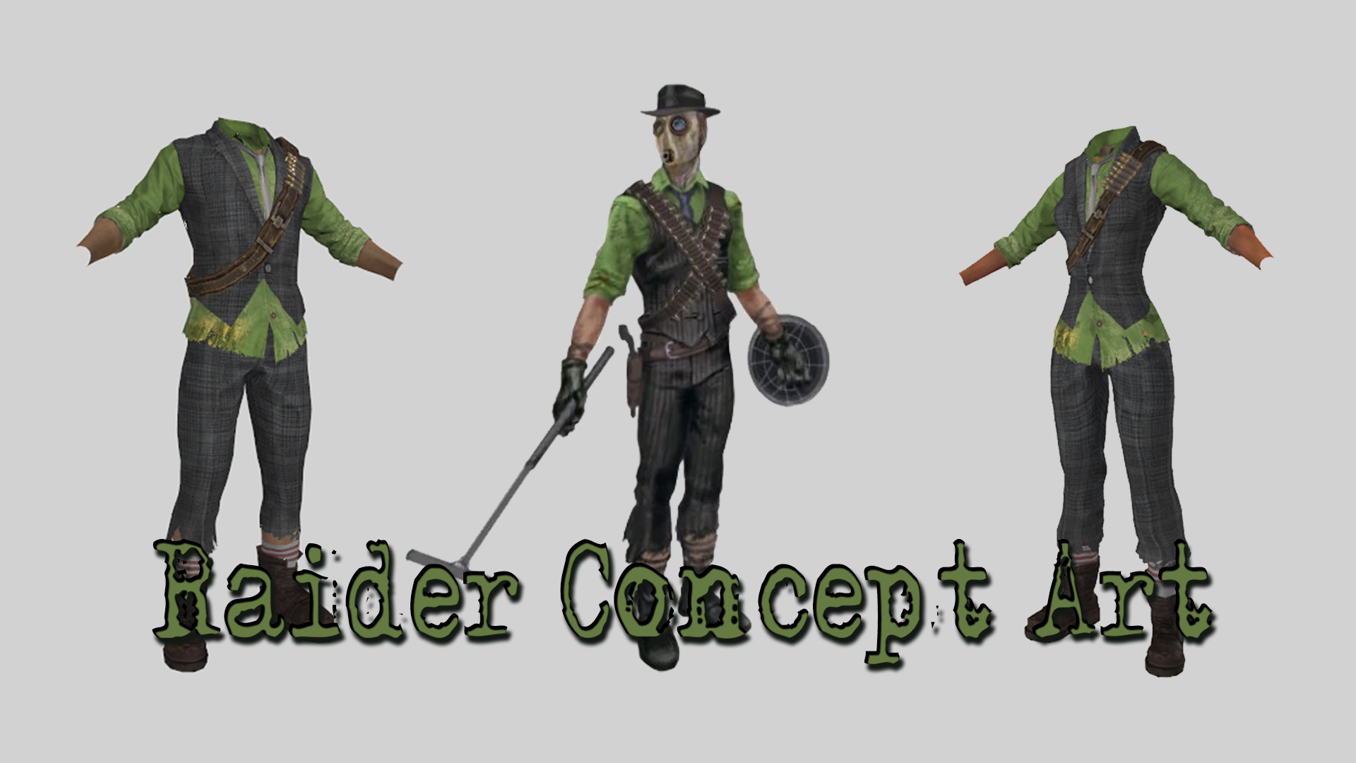 Raider Concept Art Outfit