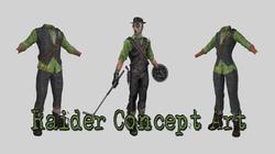 Raider Concept Art Outfit