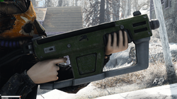 12.7mm SMG