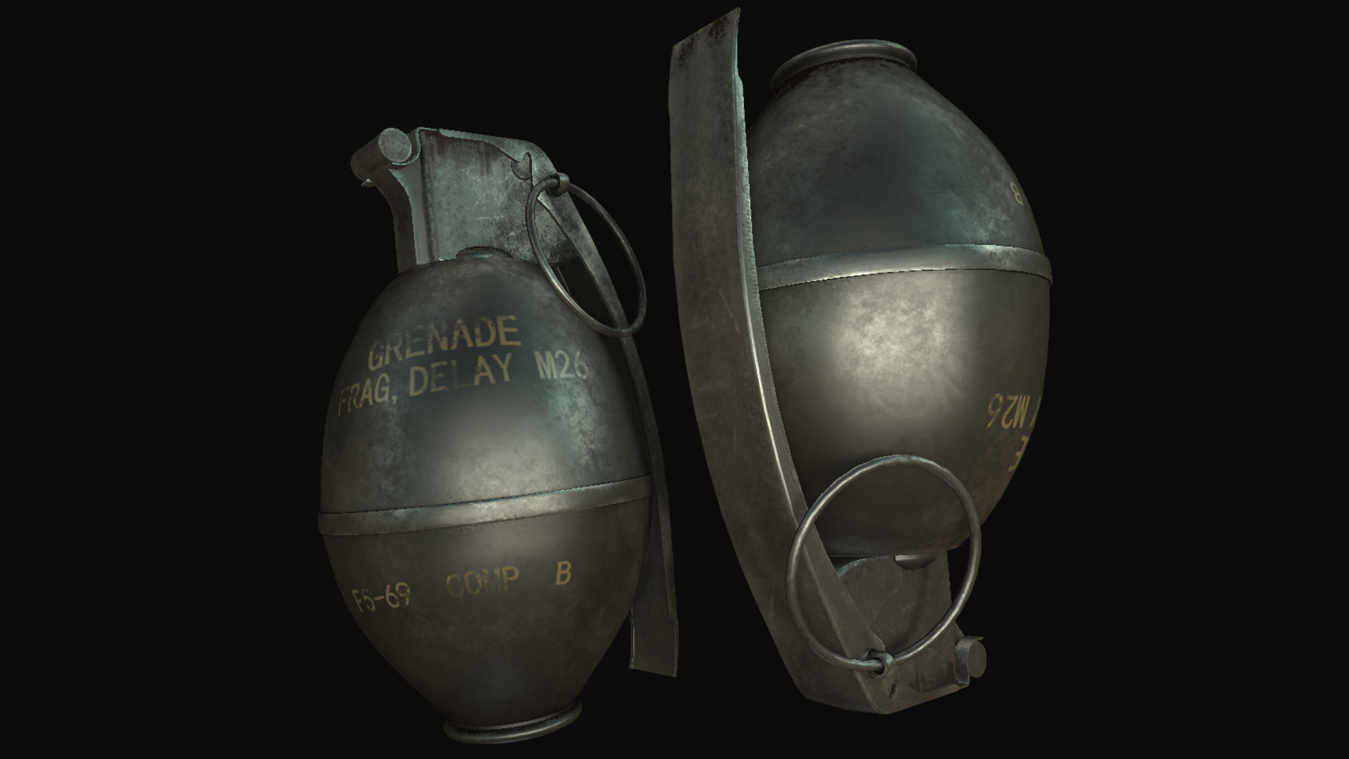 M26 Fragmentation Grenade Replacer
