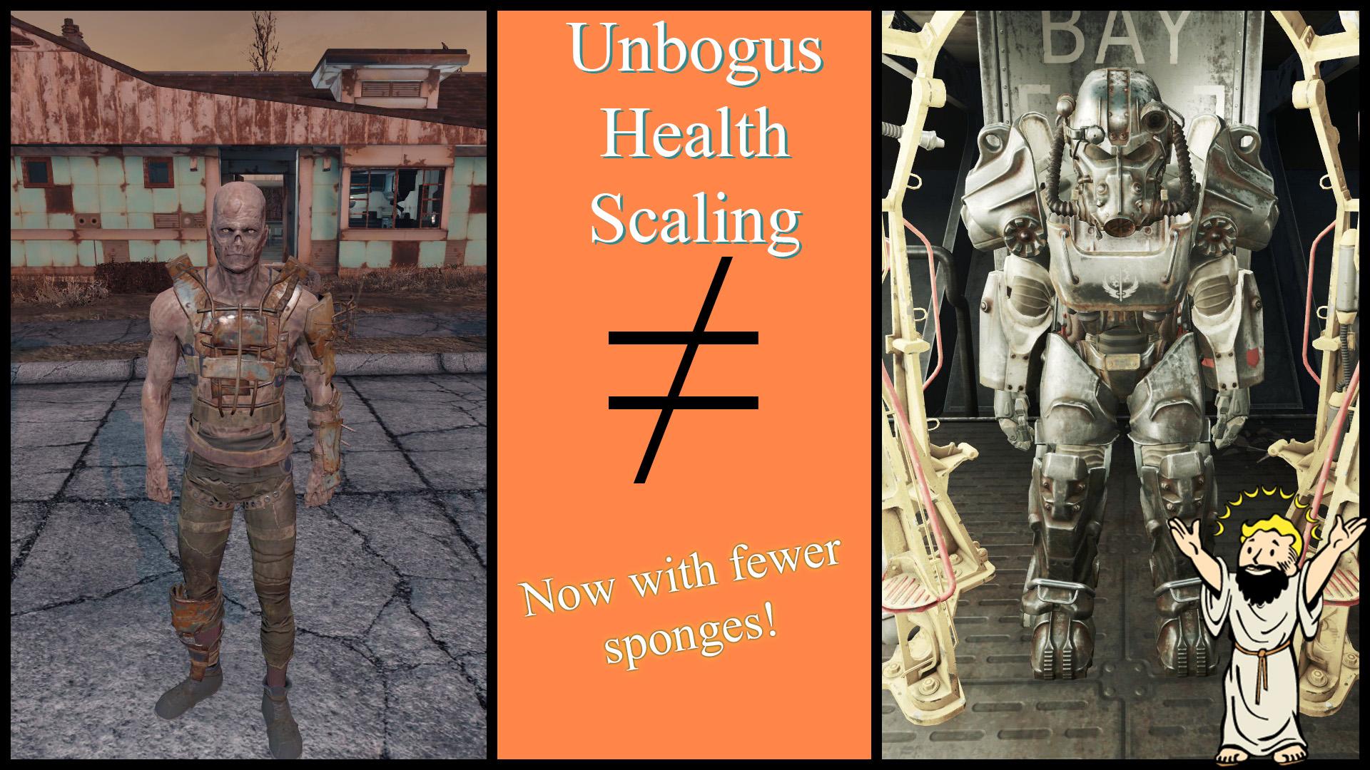 Unbogus Health Scaling